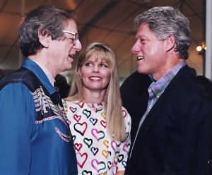 Ken Kragen With President Clinton