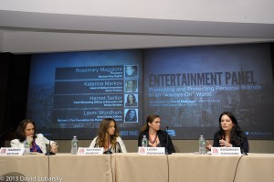 Entertainment Panel: Chief Digital Officer Summit 2013