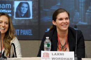 Katerina Markov and Laxmi Wordham