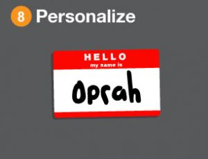 Personalize