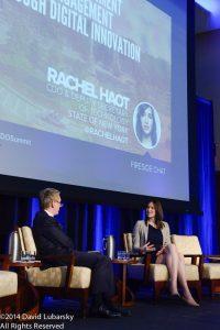Rachel S. Haot and CDO Club Founder David Mathison