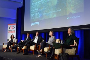 The Entertainment Ecosystem panel at the 2014 NYC CDO Summit