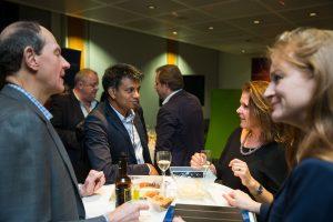 Reception and Networking at the London CDO Summit 2014