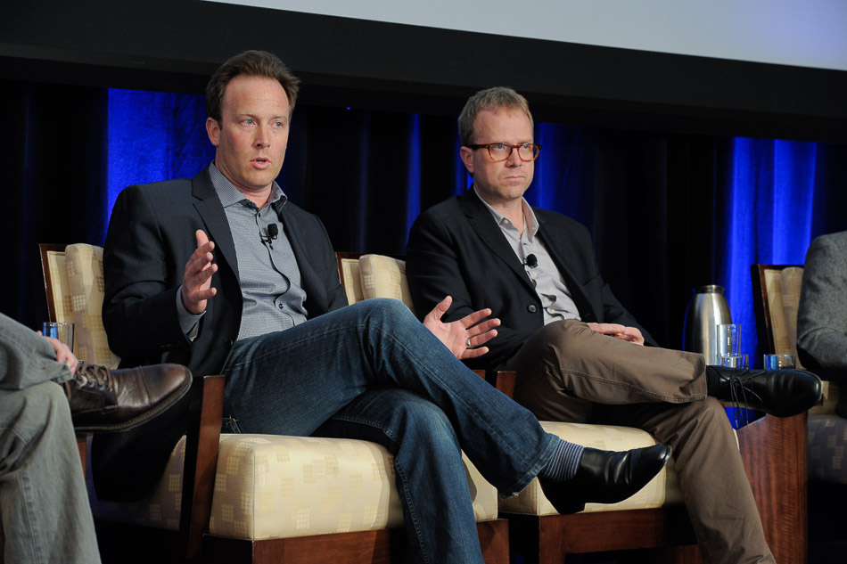 Justin Tobin, Eric Hellweg, Chief Digital Officer Summit, NYC 2014