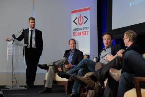 Daniel Heaf, David Payne, Justin Tobin, and Eric Hellweg, Chief Digital Officer Summit NYC 2014