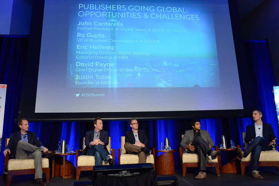 Chief Digital Officer Summit NYC 2014, Daniel Heaf, David Payne, Justin Tobin, Eric Hellweg, Ro Gupta, John Cantarella