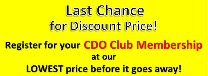 Last chance membership