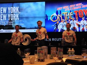 """New York, New York""  performed by ON THE TOWN cast members"