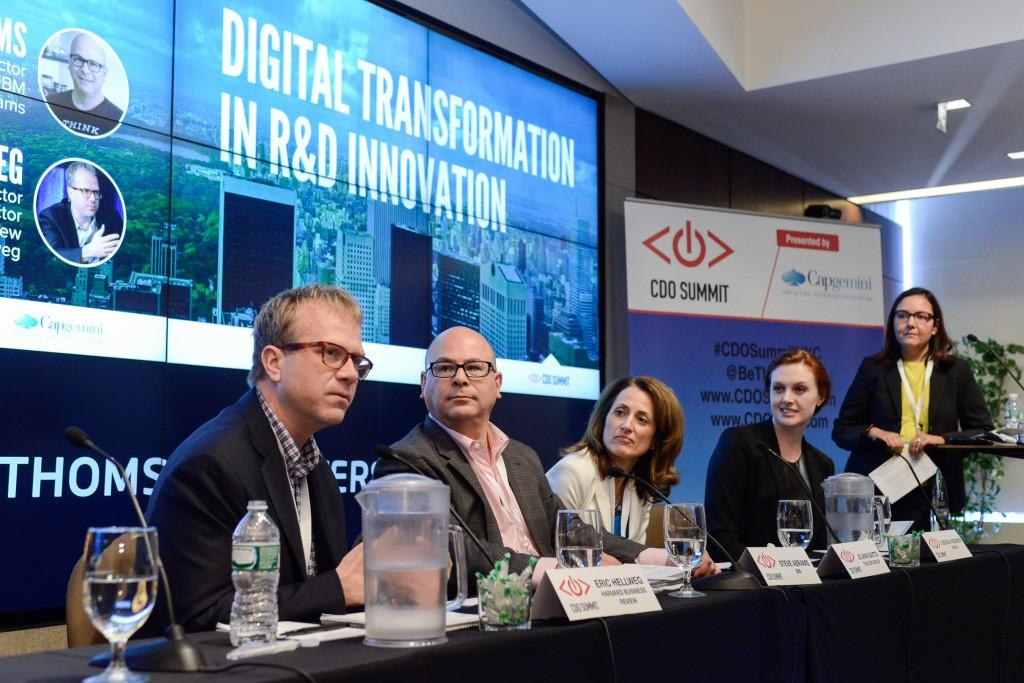 Chief Digital Officer Summit, CDO Summit, CDO Club, R&D Panel, NYC, 2015