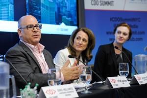 Steve Abrams, Jo Ann Saitta, Jessica Federer, Chief Digital Officer Summit, CDO Summit, CDO Club, R&D Panel, NYC, 2015