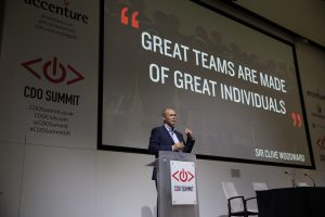 Sir Clive Woodward OBE, Rugby, Chief Digital Officer Summit, London 2015