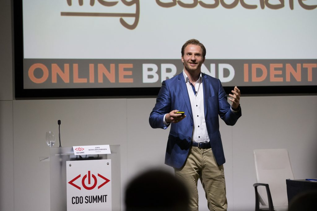 Joris Merks-Benjaminsen, Head of Digital Transformation at Google, Chief Digital Officer Summit, London