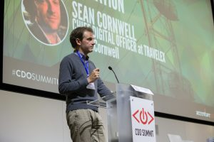 Sean Cornwell, Travelex, Chief Digital Officer Summit, London 2015