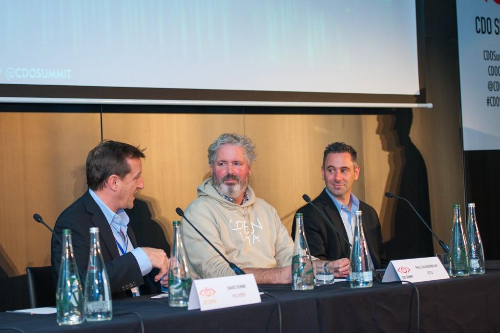 David Dunne, Paul Suijkerbuijk, and Daniel Raskin, Chief Digital Officer Summit, Amsterdam, 2015