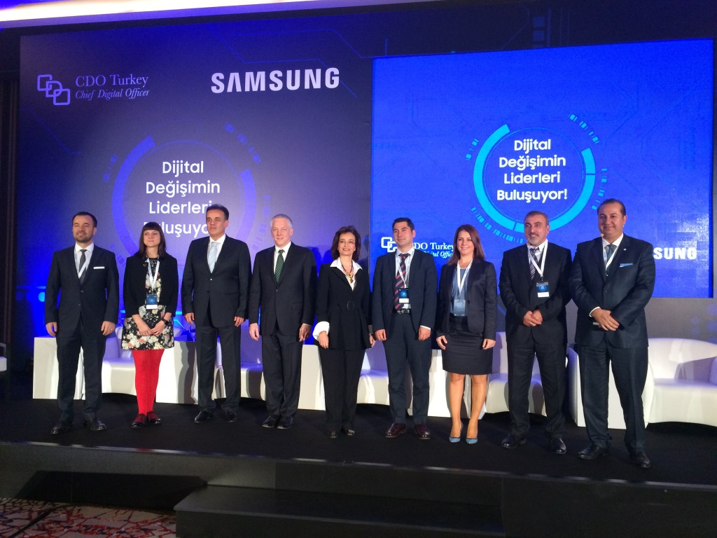 The Leaders of the Digital Transformation, Istanbul, Turkey, 2015