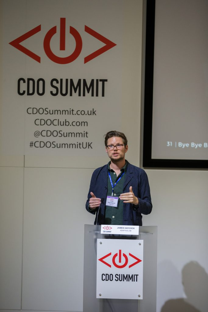 James Haycock, Adaptive Lab, CDO Summit, 2015 London
