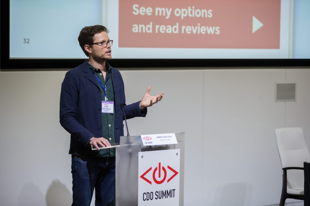 James Haycock, Adaptive Lab, CDOSummit, 2015 London