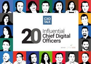 CXOTalk 20 influential Chief Digital Officers