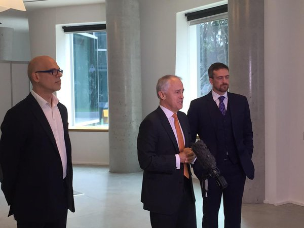 Paul Shetler and Malcolm Turnbull