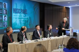 Music Panel with Moderator Dick Wingate: Chief Digital Officer Summit