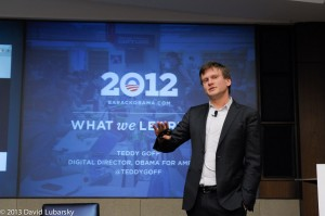 Teddy Goff, Digital Director of Barack Obama's 2008 and 2012 campaigns