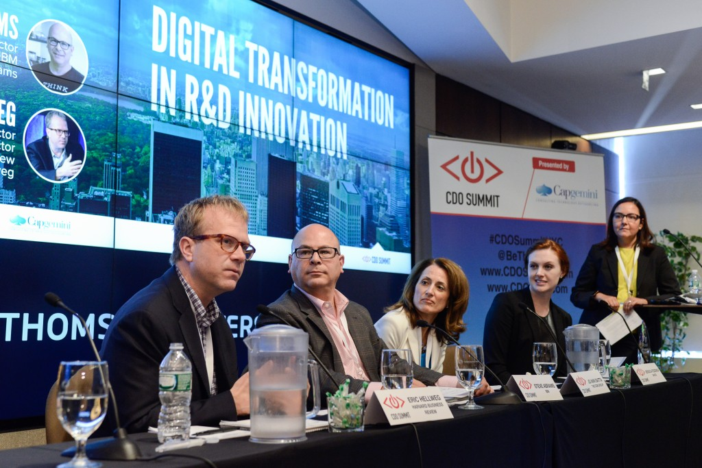 Chief Digital Officer Summit, CDO Summit, CDO Club, R&D Panel, NYC, 2015