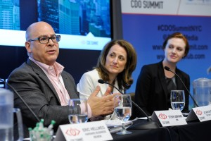 Steve Abrams, Jo Ann Saitta, Jessica Federer, Chief Digital Officer Summit, CDO Summit, CDO Club, R&D Panel, NYC, 2015
