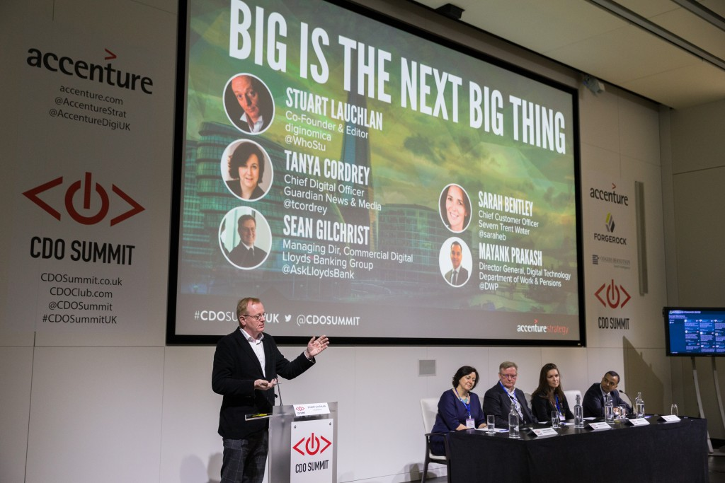 Big Is The Next Big Thing, Chief Digital Officer Summit, London 2015