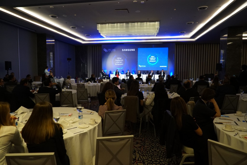 CDO Turkey, 2015, Leaders of Digital Transformation, Wyndham Grand Levent Hotel